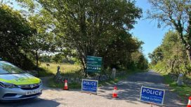 Lighthouse road closed