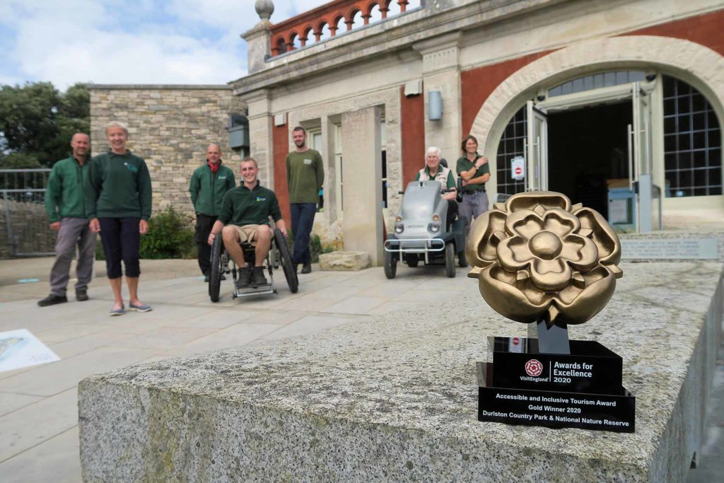 Durlston's Gold Visit England award