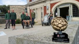 Durlston's Gold Visit England award