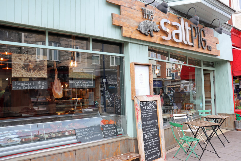Exterior of Salt Pig Too