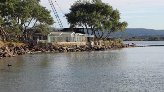 Exterior of Shell Bay Restaurant