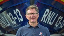 Swanage Lifeboat operations manager Rob Pullman