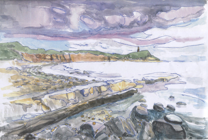 A painting of Kimmeridge