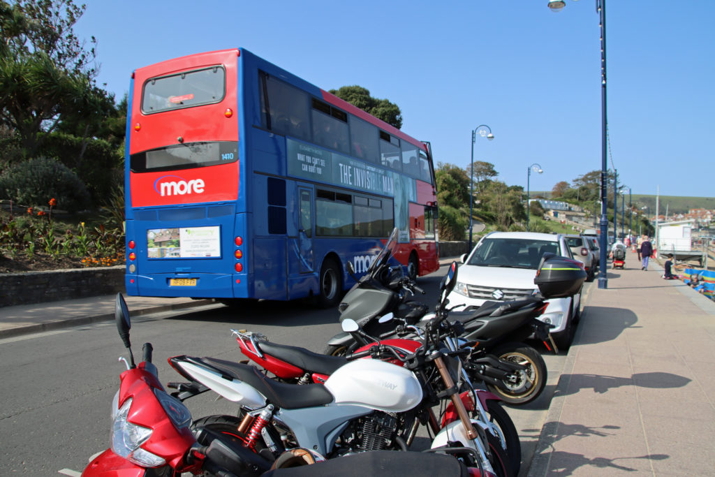 Bus in Swanage