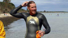 Oly completes Jurassic Coast swim