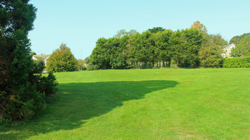 Rabling Green - the site of the new park