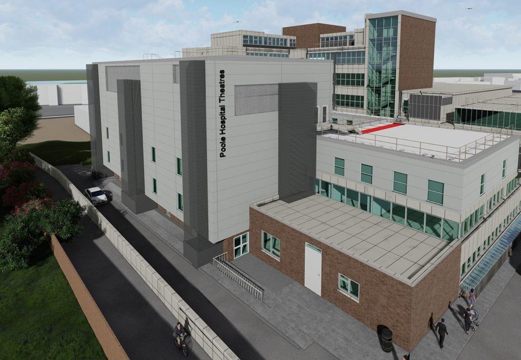 Poole Hospital architect impression