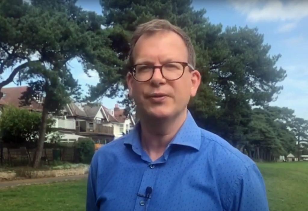 Sam Crowe, Director of Public Health Dorset