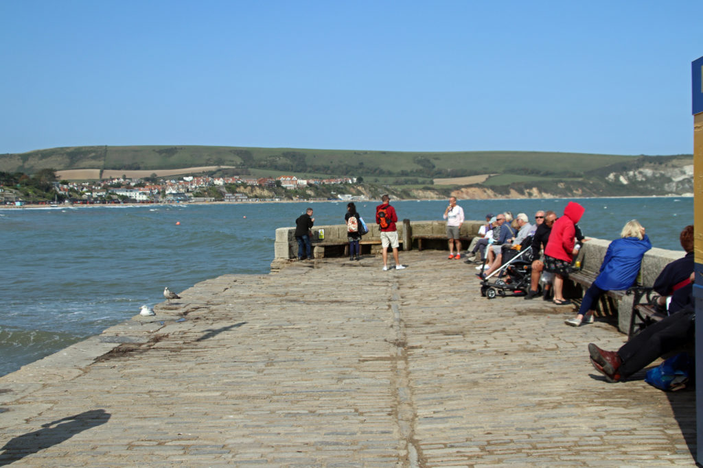 Stone Quay in Swanage