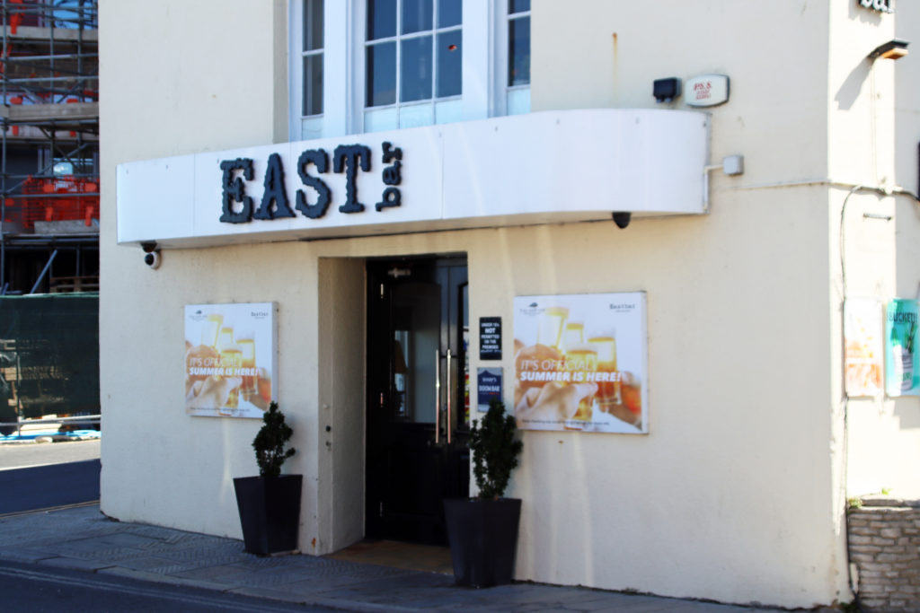 East Bar entrance in Swanage