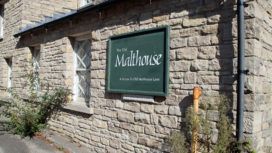 The Old Malthouse sign