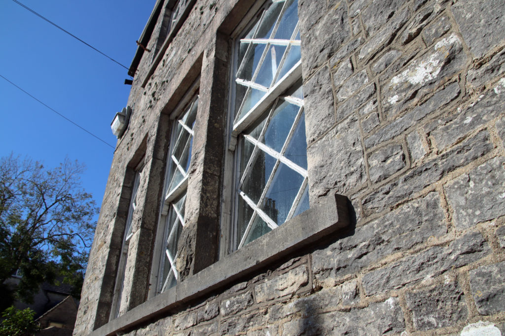 The Old Malthouse windows