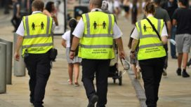 Covid marshals on patrol