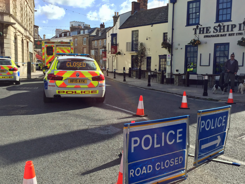 High Street closed by police