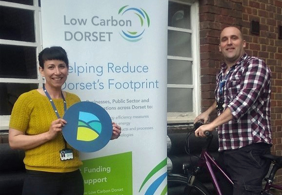 Low Carbon Dorset team