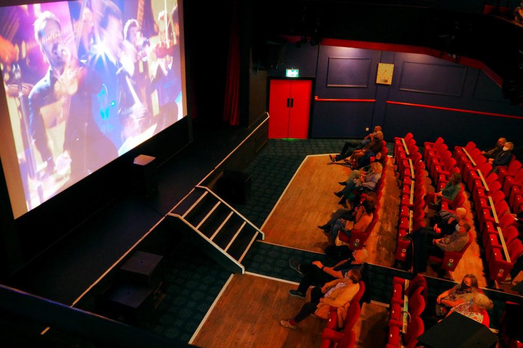 Mowlem theatre auditorium