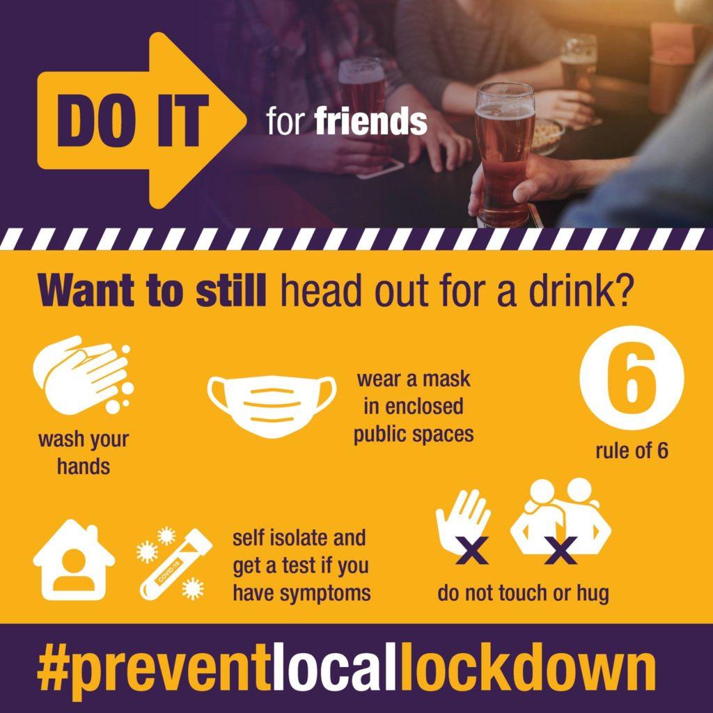 Prevent local lockdown poster
