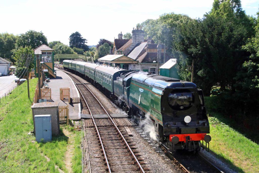 Swanage Railway summer 2020