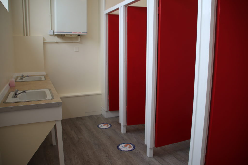 The ladies toilets at the Mowlem