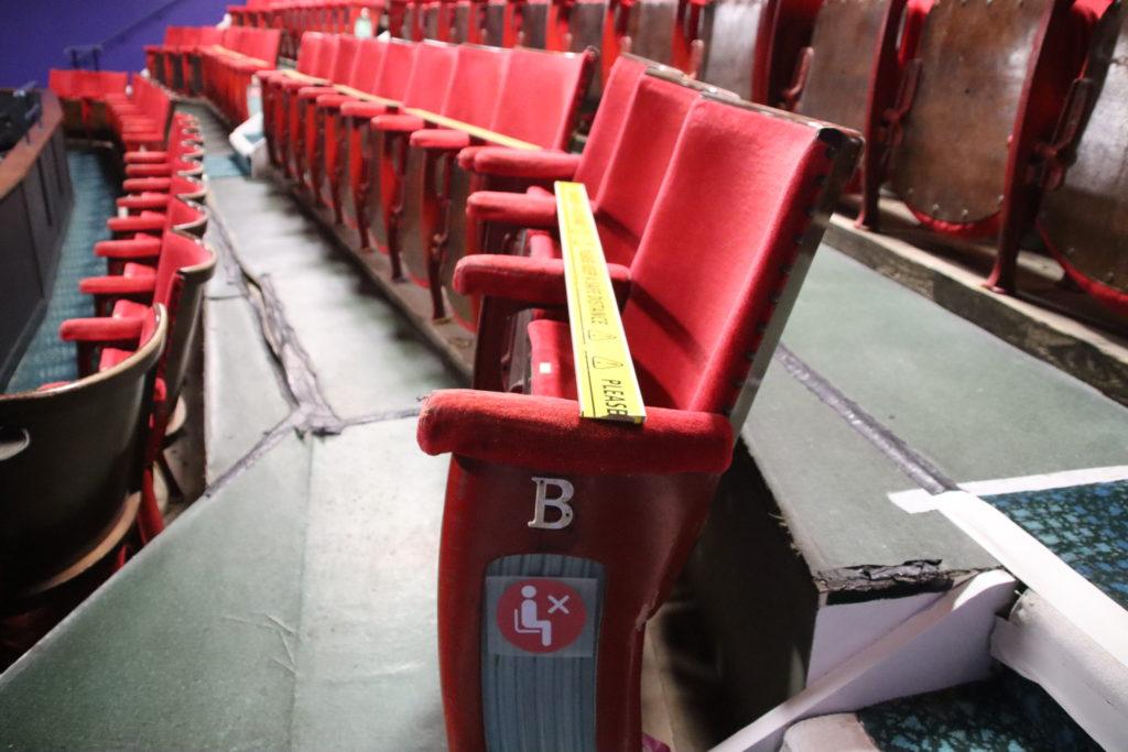 The auditorium at The Mowlem