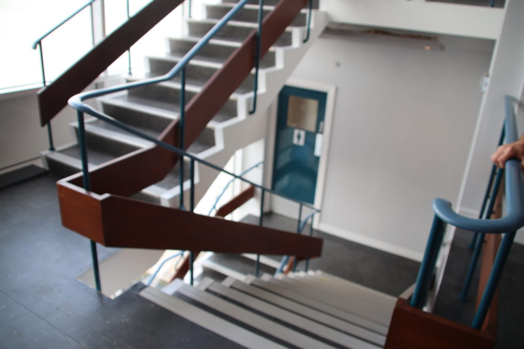 The stairs at The Mowlem