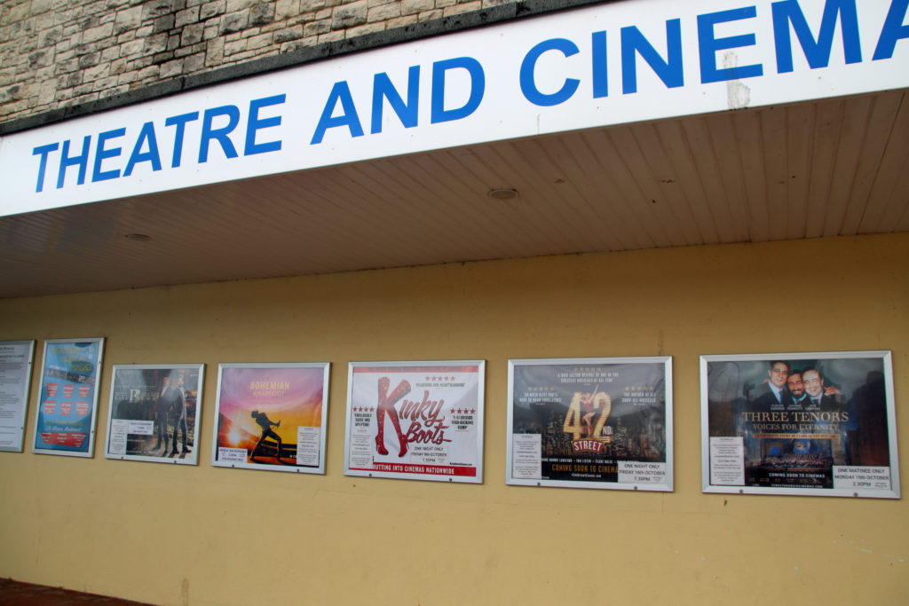 Show posters at The Mowlem