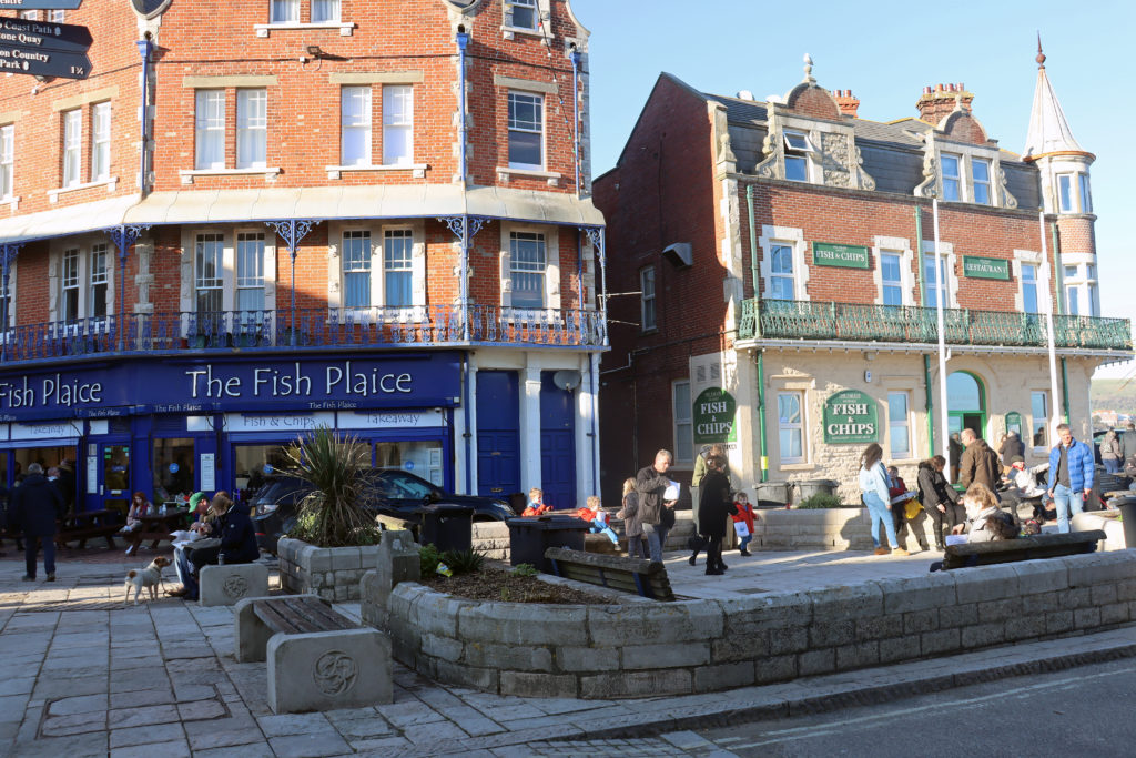Exterior of Fish Plaice and the Parade