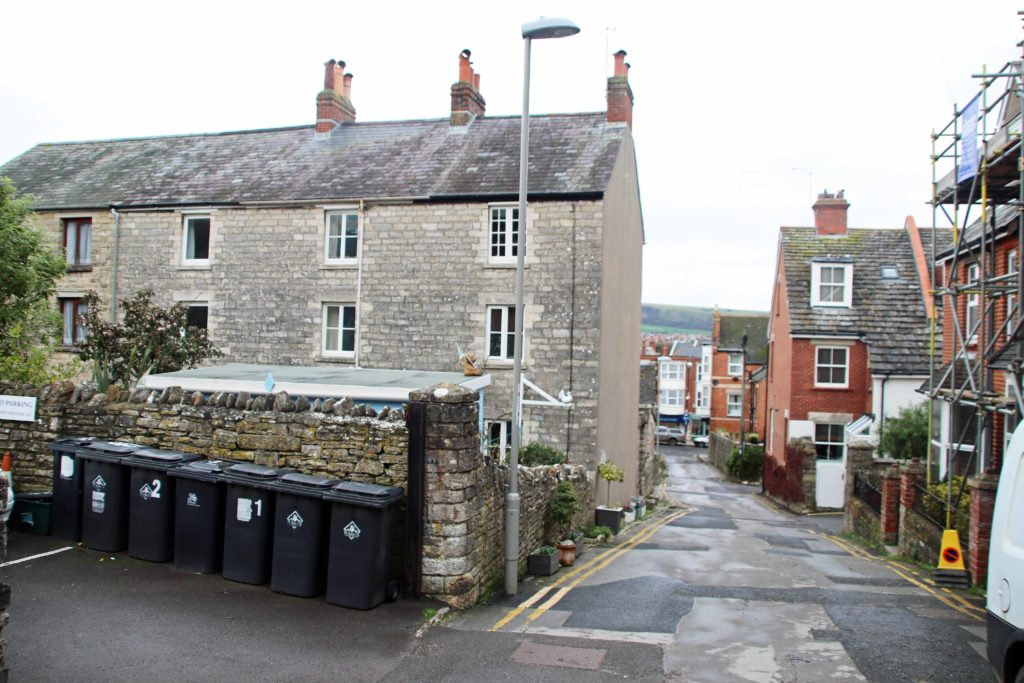 Mount Pleasant Lane off the High Street, Swanage
