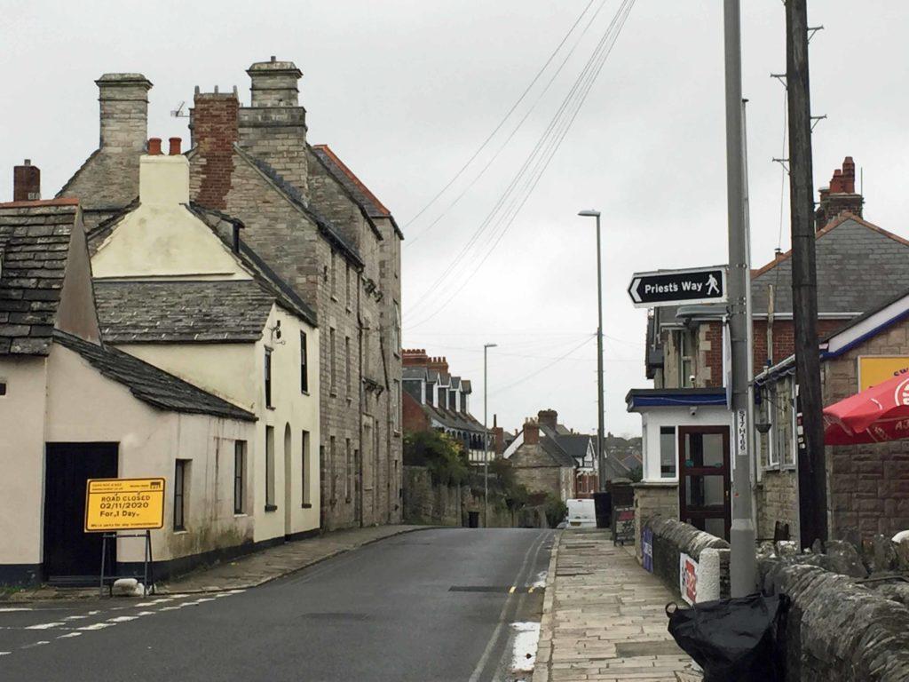 High Street by the Legion