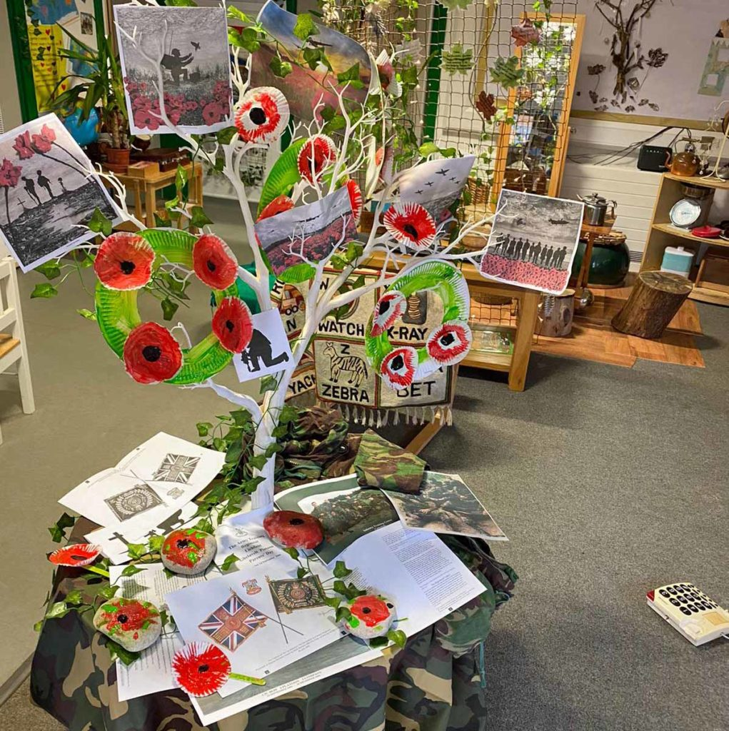 Tree of Remembrance at Little Birds Pre-school