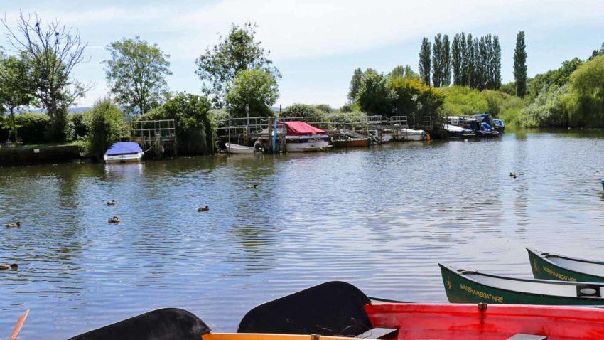 River Frome in Wareham