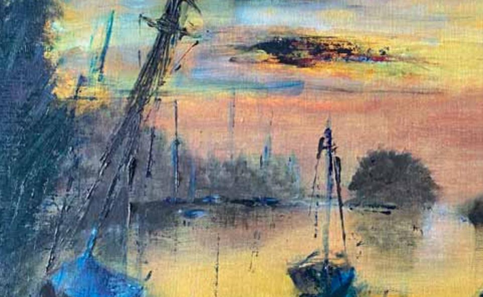 Wareham sunset by Katie Heslop