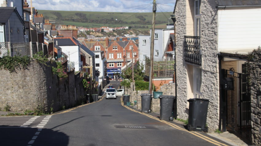 Taunton Road in Swanage
