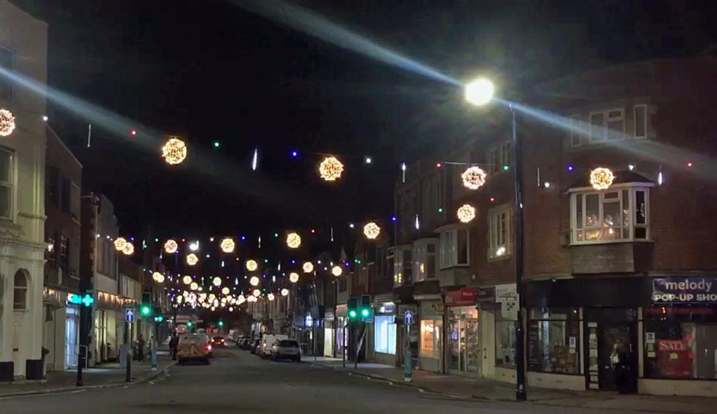 Swanage Christmas lights
