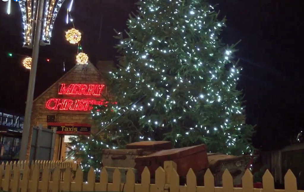 Swanage Christmas tree lights