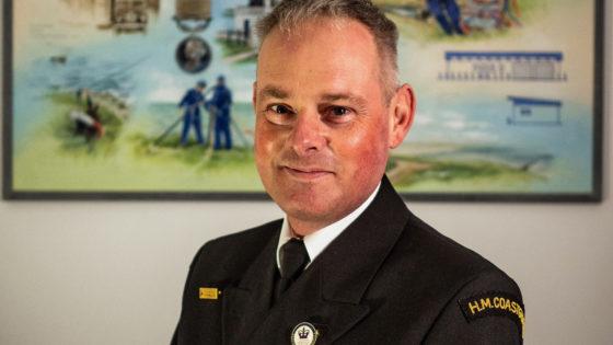 Swanage Coastguard station officer,Ian Brown