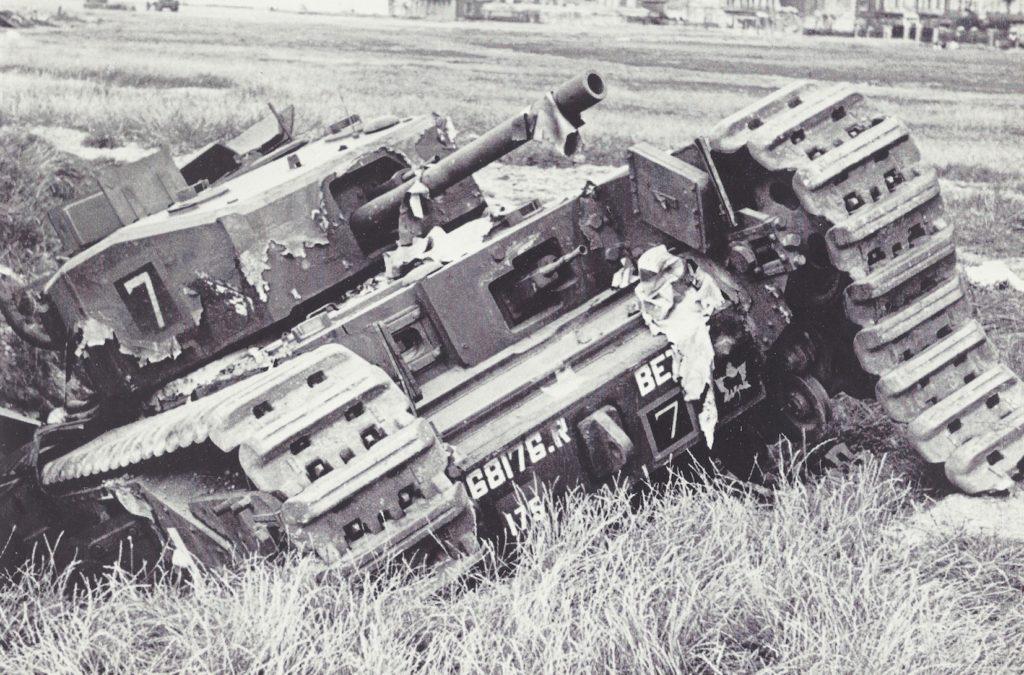 19 August 1942 Churchill Tank Mark III Betty at Dieppe (2)