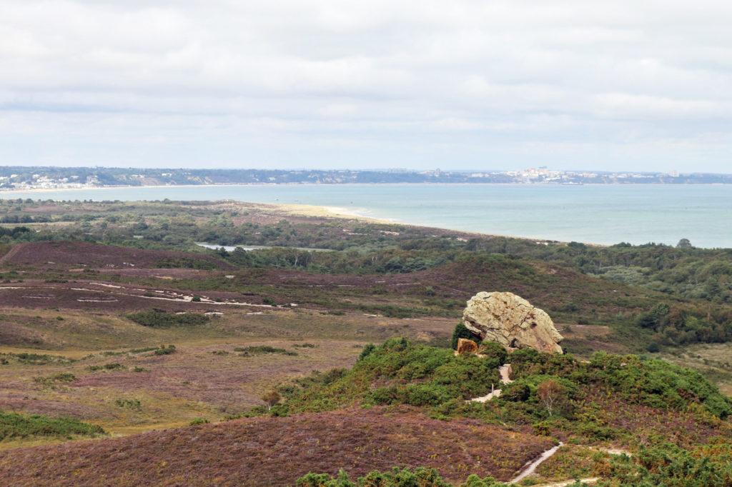 Agglestone rock in Purbeck
