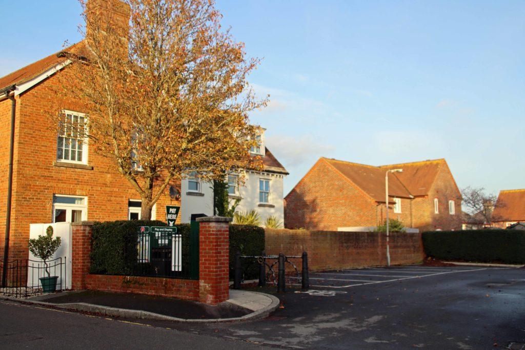 Bonnets Lane car park in Wareham