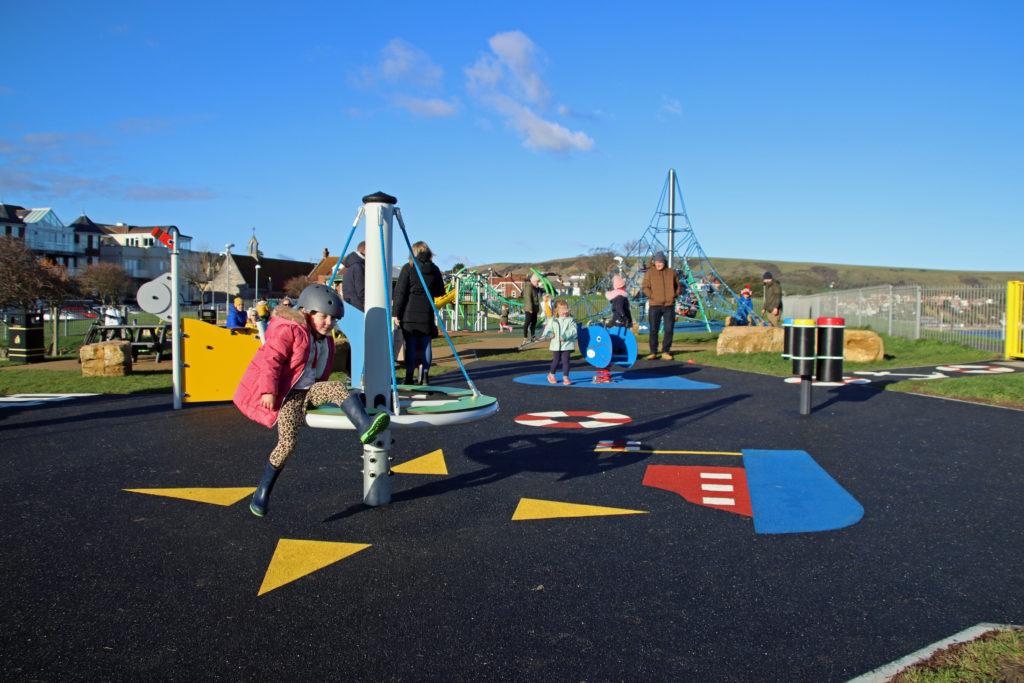 Chadwick Playground in Swanage