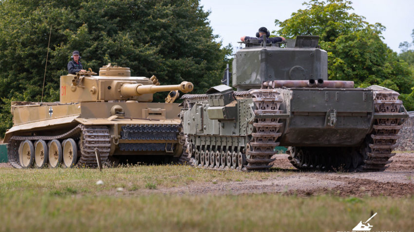 Churchill and Tiger at Tiger Day 13 (1)