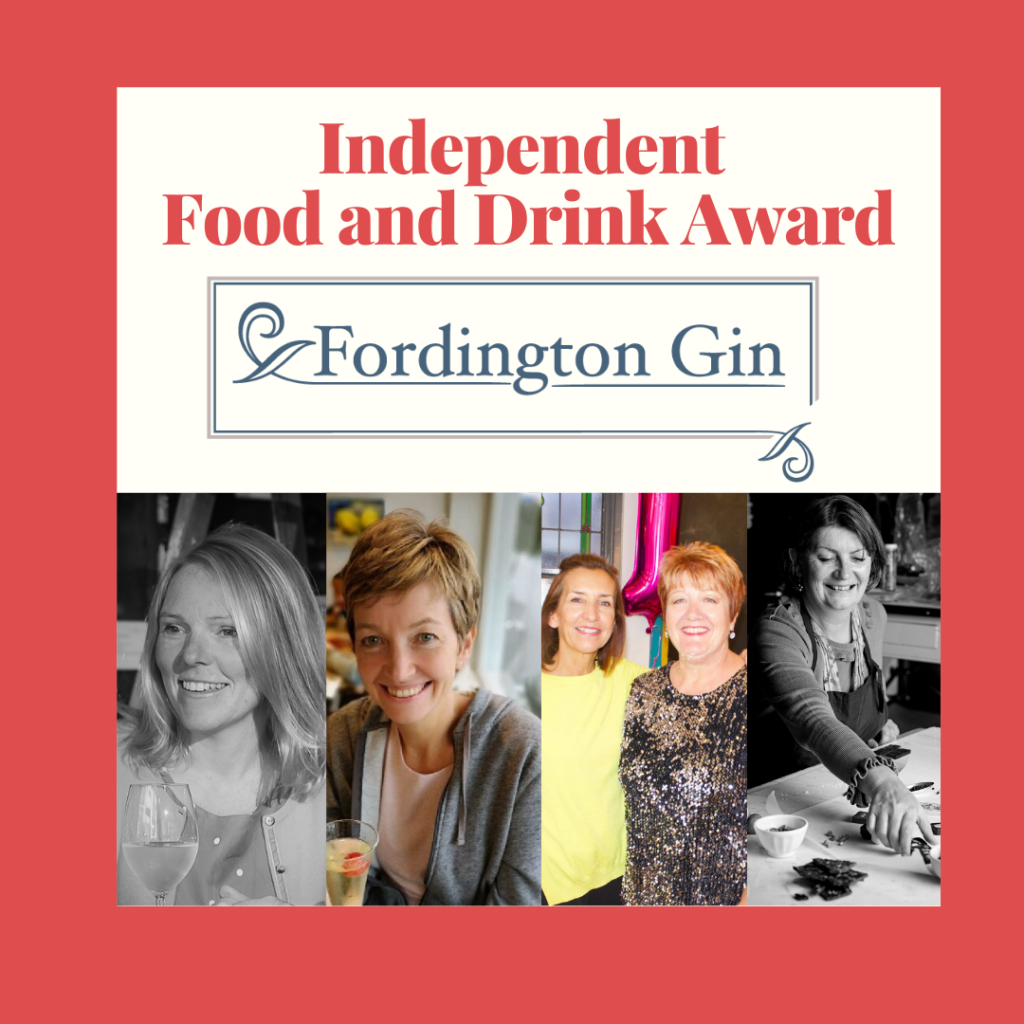 Food and drink award poster