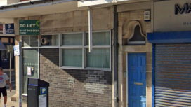 Exterior of Former Barclays Bank in Swanage