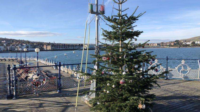Swanage Pier Christmas Tree 2020
