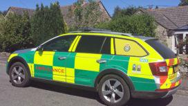 The Purbeck Paramedic Car