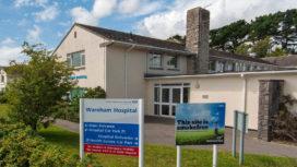 Exterior of Wareham Hospital