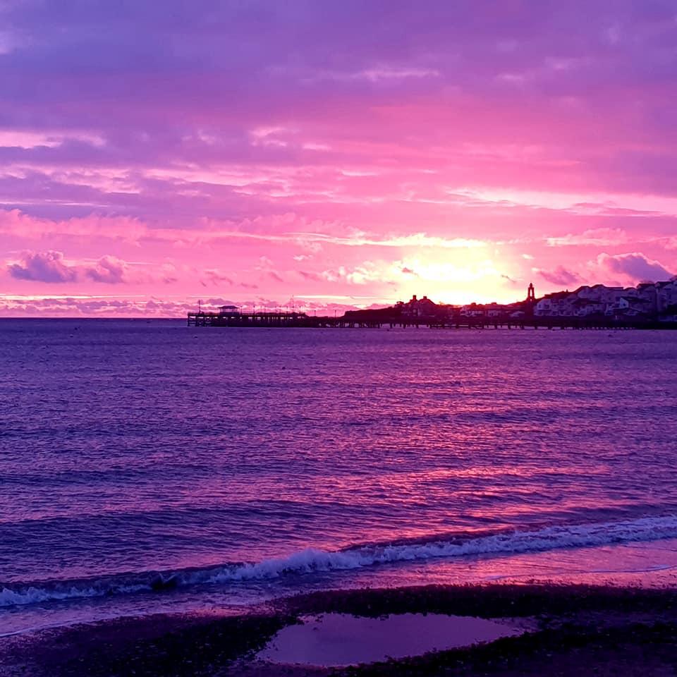 Sunrise over Swanage - 11th November 2020