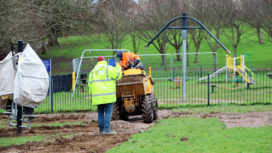 Work starts at Day Park