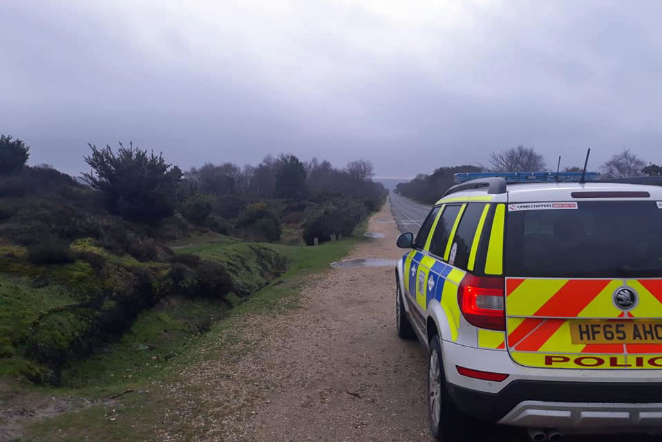 Purbeck Police at Studland