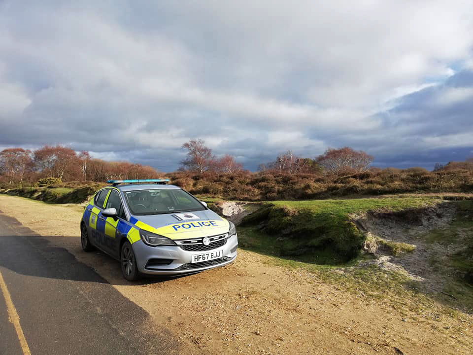 Purbeck police on patrol in Studland